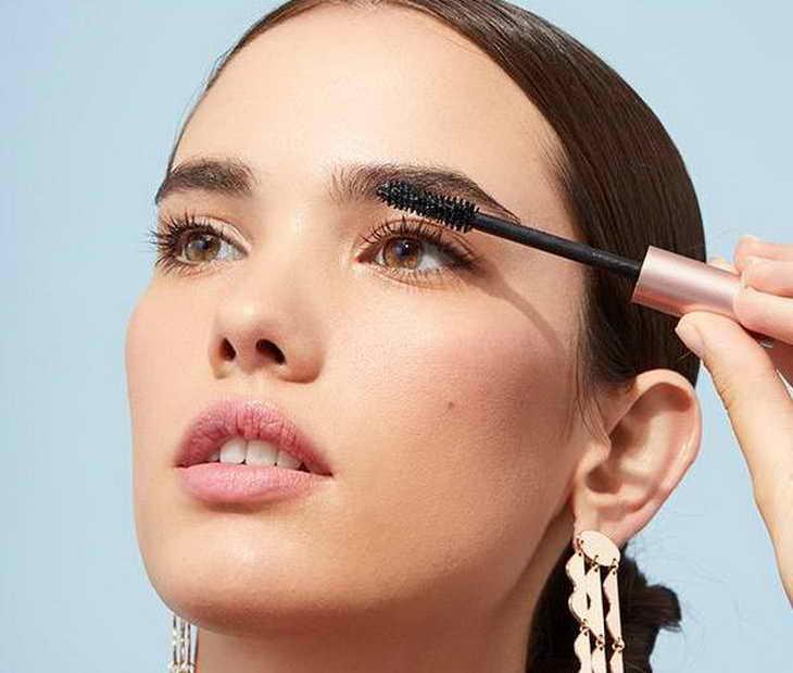 дневной макияж для карих глаз поэтапно фото