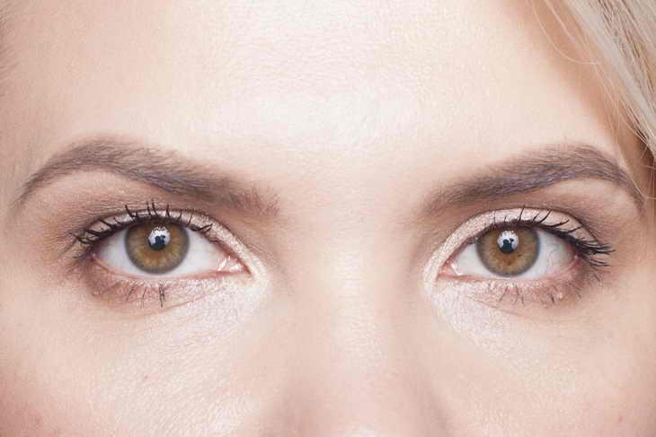 макияж для нависшего века нижнее веко