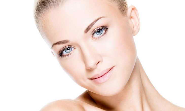 макияж для серо голубых глаз повседневный