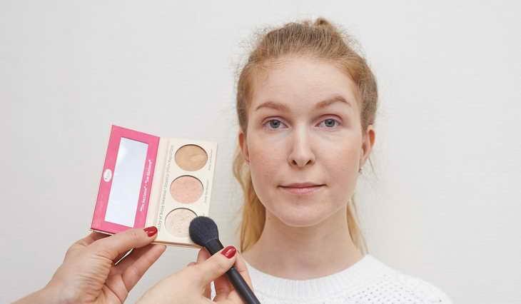 макияж для серо зеленых глаз как сделать самой себе