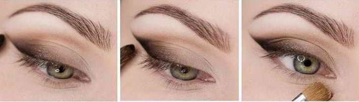 красивый макияж для зеленых глаз поэтапно фото и видео