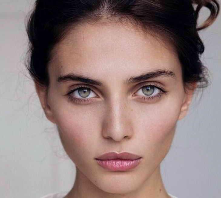 макияж для зеленых глаз на каждый день
