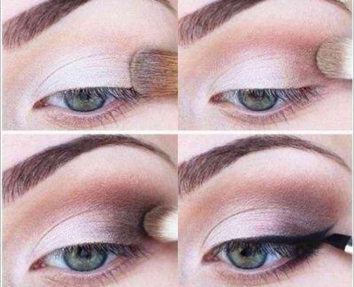 макияж для зеленых глаз на вечеринку