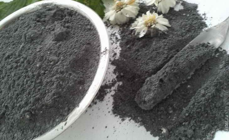 Маска с глиной и угллем