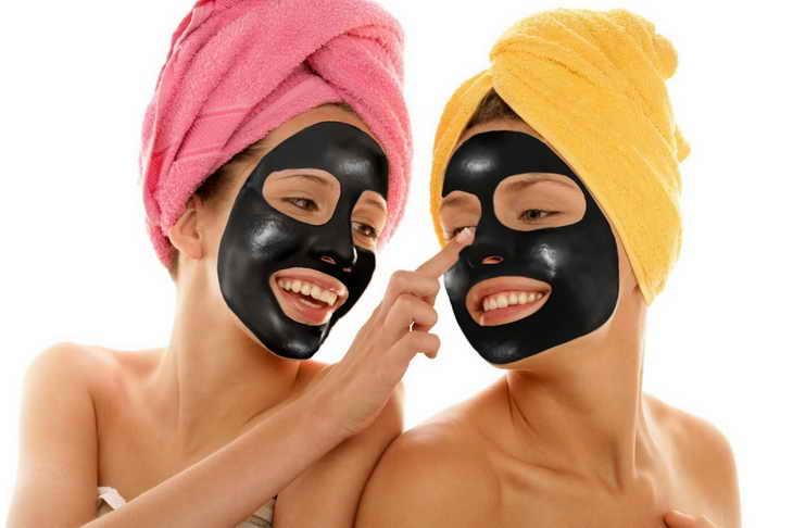 маска из активированного угля правила нанесения