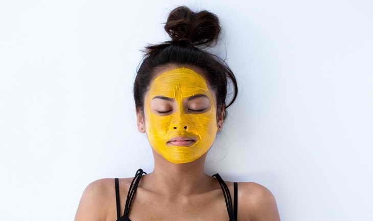 маска из куркумы для лица применение