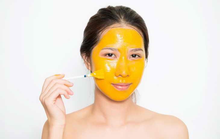 маска из куркумы для лица как наносить