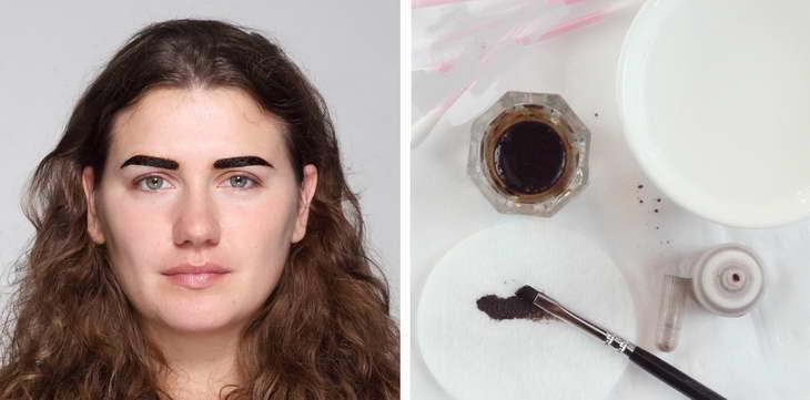 хна для бровей brow henna как пользоваться