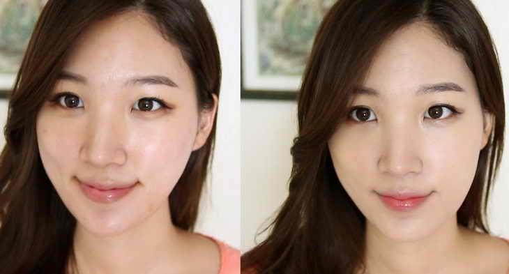 отбеливающие маски для лица до и после