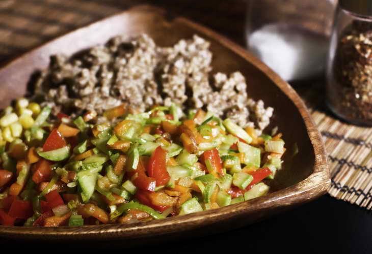 Гречнево-овощная диета