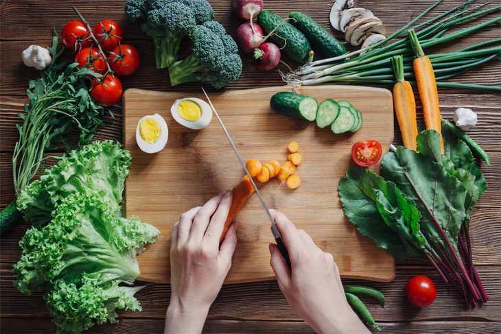 овощная диета что кушать