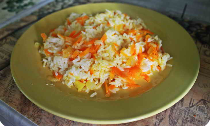 рисовая диета обед