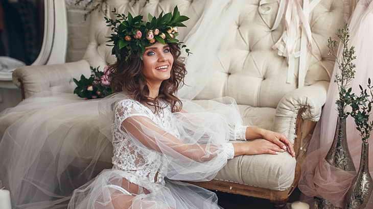 свадебный макияж фото для невесты