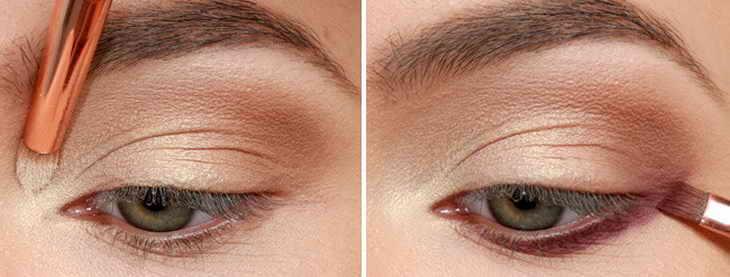 свадебный макияж со стрелками зеленые глаза
