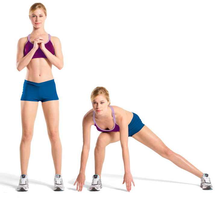 упражнения для похудения ног лучшие