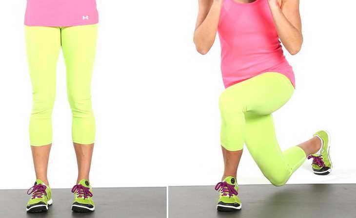 Реверанс для похудения ног