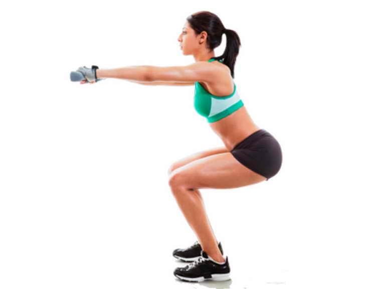 Узкая постановка стоп для похудения ног