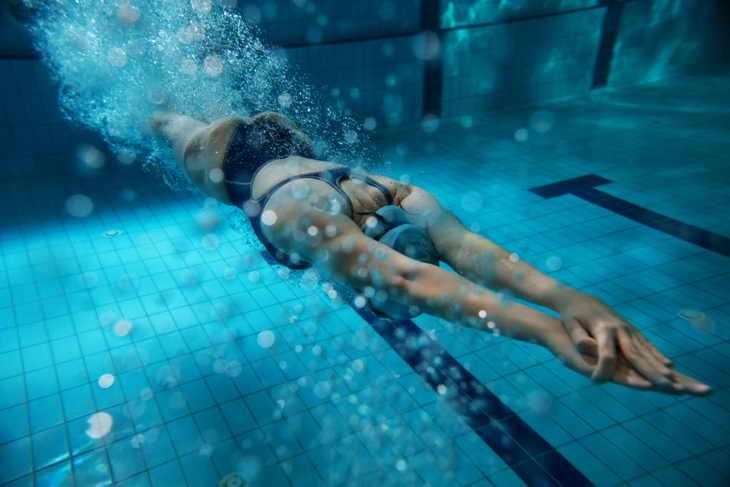 Плавание для ног