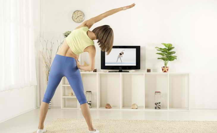 зарядка для похудения упражнения