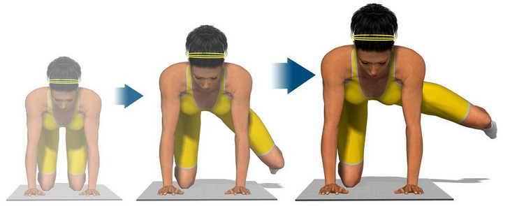 зарядка для похудения для ног