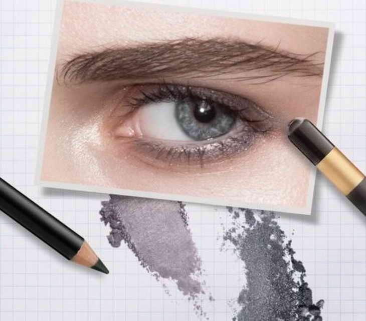 какие тени подходят для серо голубых глаз