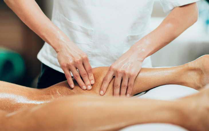 лимфодренажный массаж ног особенности