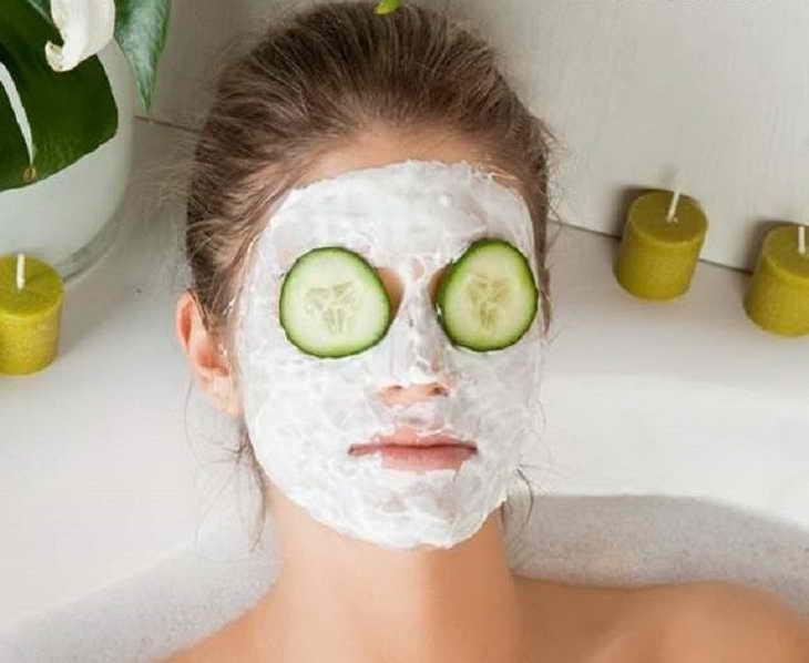 маска с огурцом для лица отзывы