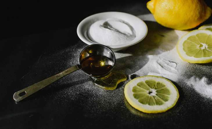 маска из соды для лица с медом