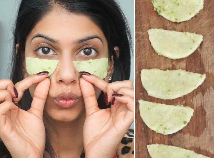 масло авокадо для лица патчи для глаз
