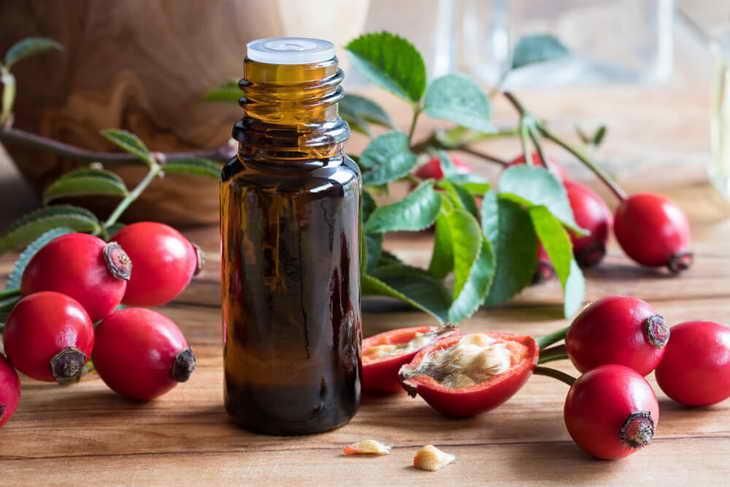 масло шиповника для лица преимущества