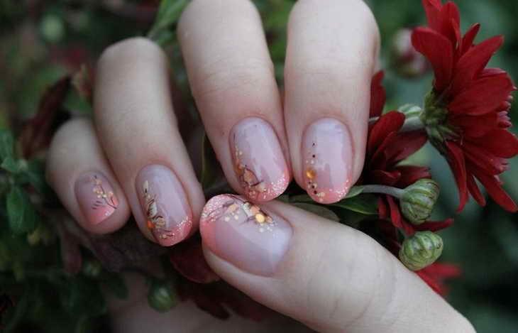 аквариумный дизайн ногтей фото пошагово
